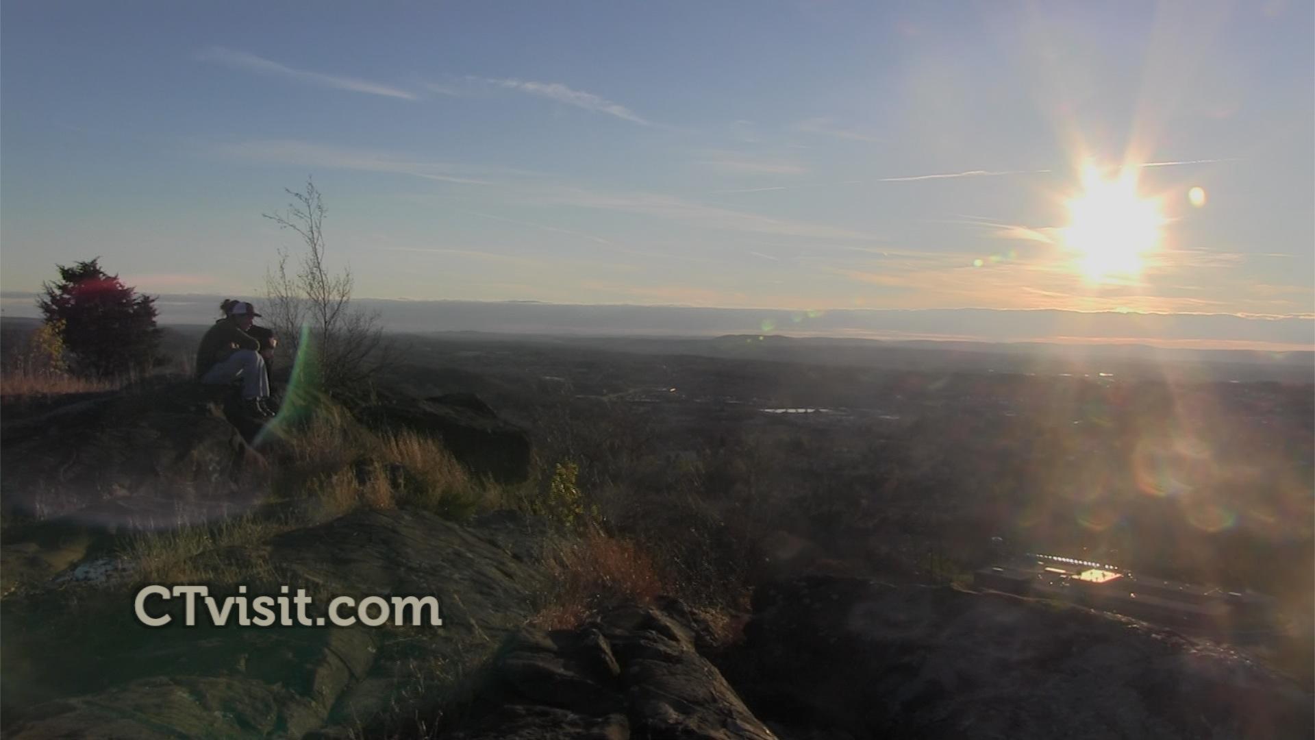 Mattabesett Trail - Higby Sunset